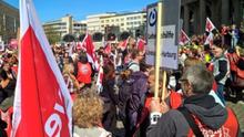 Sozial- und Erziehungsdienste: Warnstreik in Brandenburg