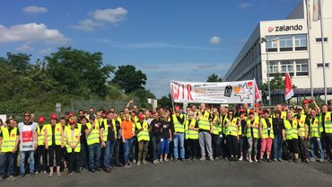 Tarifverhandlungen für Zalando Brieselang: Streik am 14.07.2017