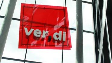Bild zeigt ver.di-Logo