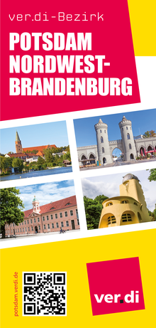 Flyer: Bezirk Potsdam-Nordwestbrandenburg