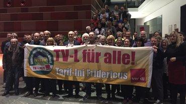 Solidaritätsbekundung der Kolleg*innen vom Neujahrsempfang des Landesbezirksfachbereichsvorstandes Besondere Dienstleistungen Berlin-Brandenburg am 23.01.2020