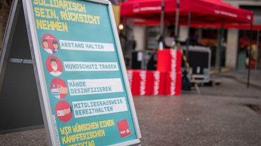 Warnstreiks im öffentlichen Dienst am 07.10.2020 in Reutlingen